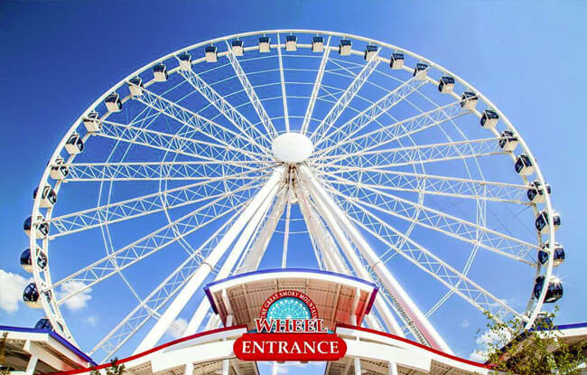 The Great Smoky Mountain Wheel at The Island, Pigeon Forge, TN