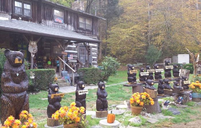 Make it Magic - Chainsaw Stump Bears
