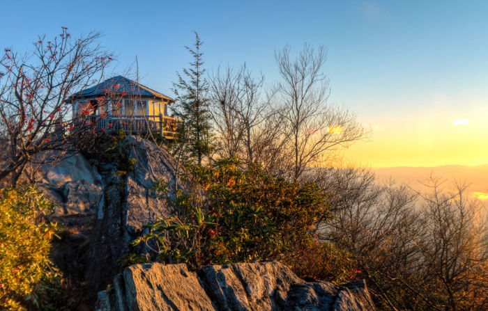 Great Smoky Mountains National Park - Mt. Cammerer Fire Tower