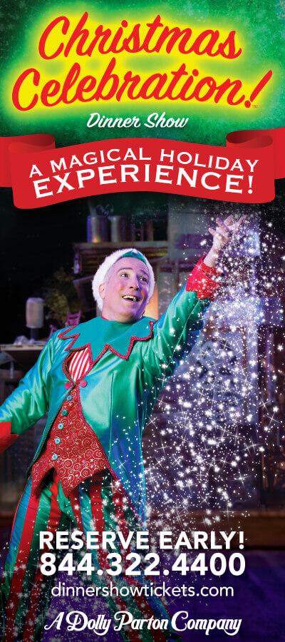 Christmas Celebration! Dinner Show – A Dolly Parton Company Brochure Image