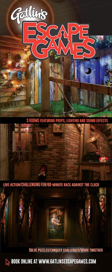 Gatlin's Escape Games Brochure Image