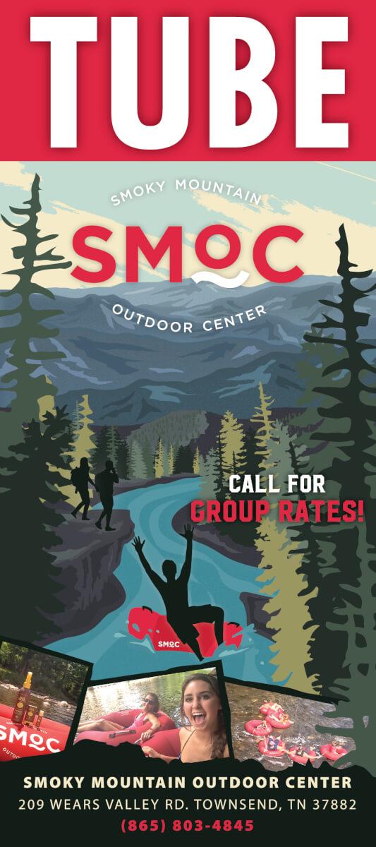 Smoky Mountain Outdoor Center Brochure Image