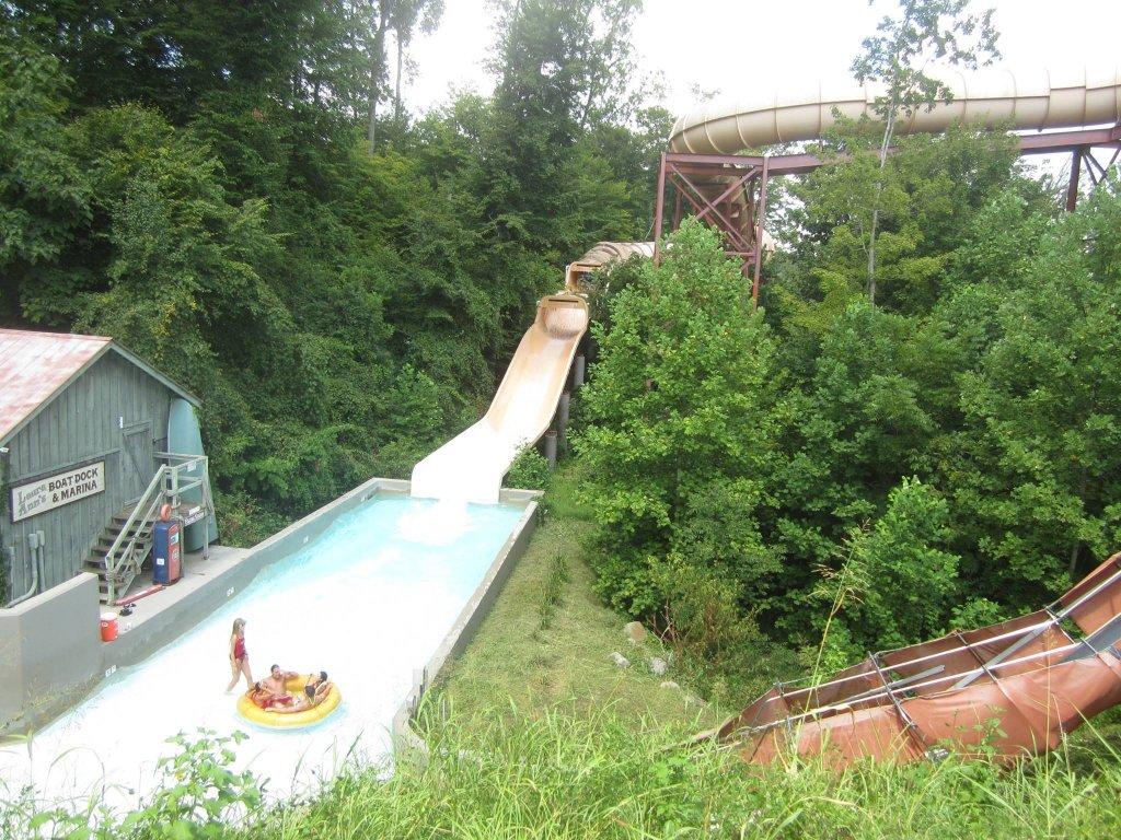 Dollywood's Splash Country - Raft Ride