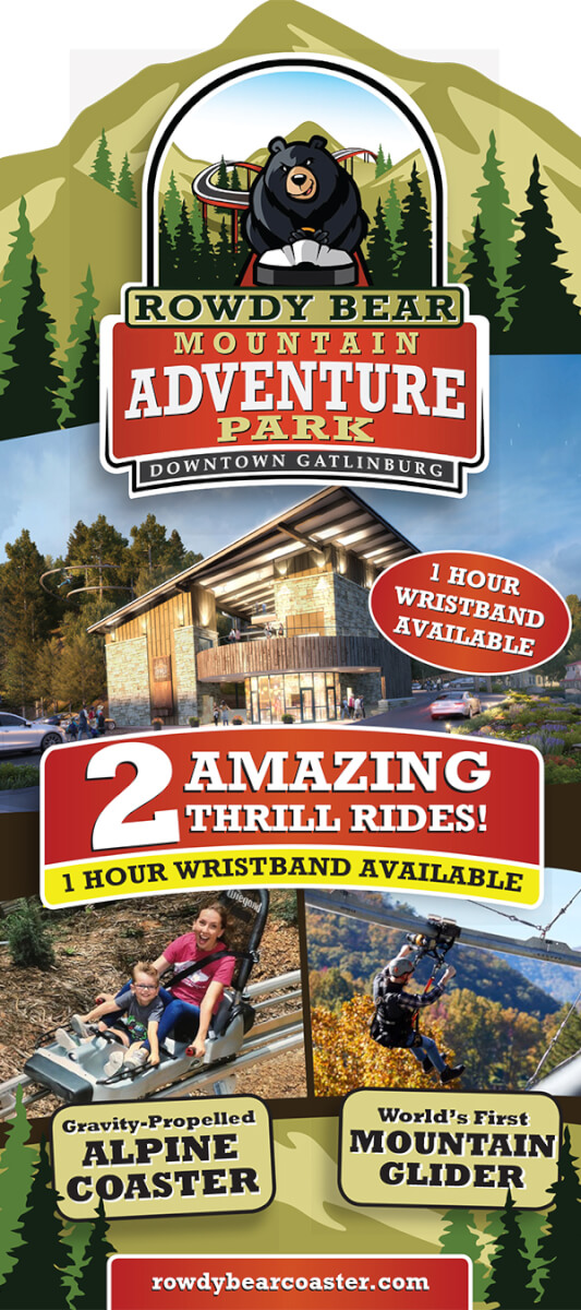 Rowdy Bear Mountain Alpine Coaster Brochure Image