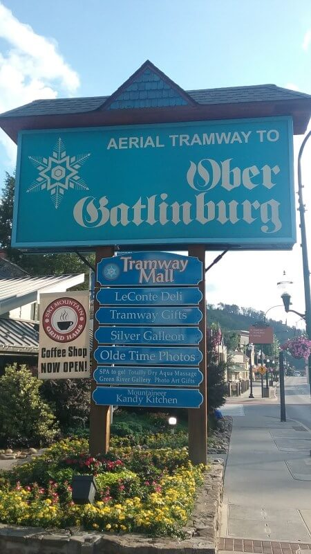 Ober Gatlinburg Tramway Mall