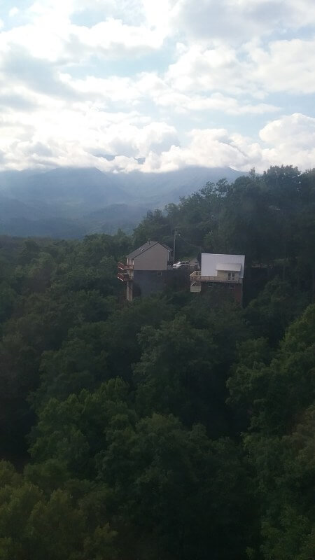 View from Ober Gatlinburg Tram