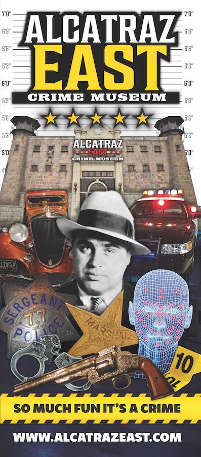 Alcatraz East Crime Museum Brochure Image