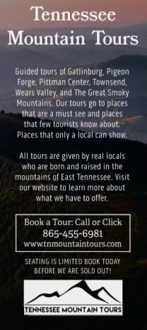 Tennessee Mountain Tours Brochure Image
