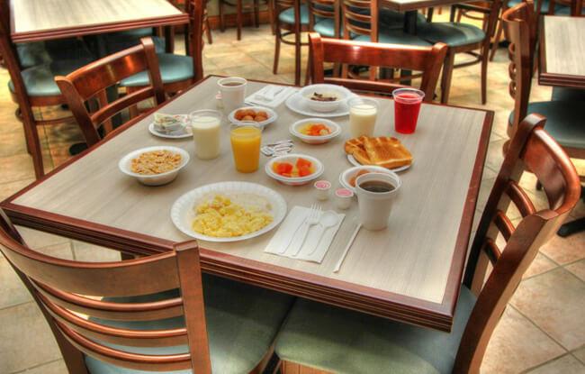 Breakfast at Greystone Lodge on the River - Gatlinburg, TN