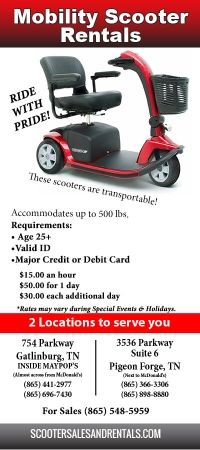 Scooter Rentals and Sales
