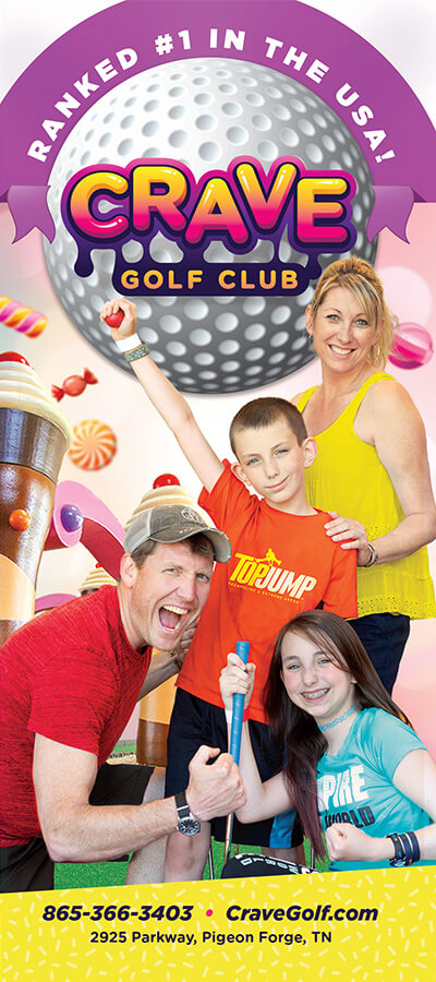 Crave Golf Club Brochure Image