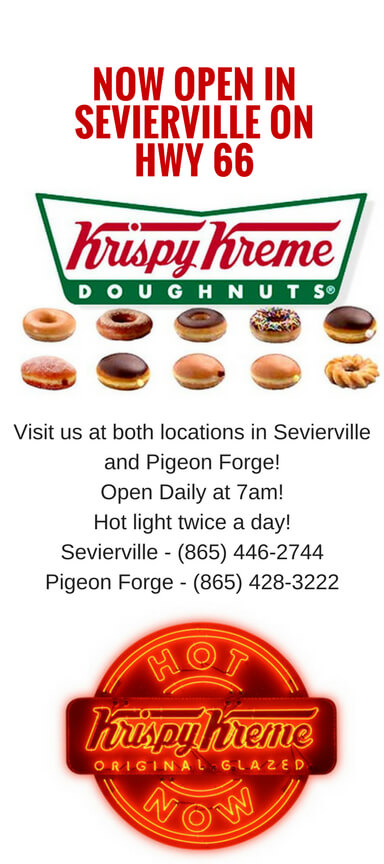 Krispy Kreme Pigeon Forge & Sevierville Brochure Image