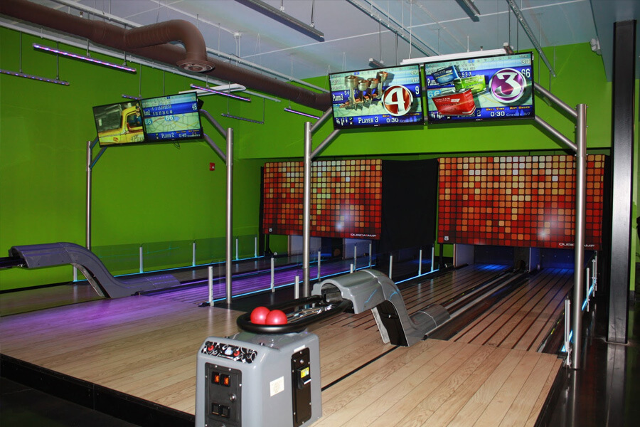 Mini Bowling at Crave Golf Club in Pigeon Forge, TN