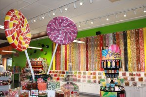 Candy Bar at Crave Golf Club in Pigeon Forge, TN