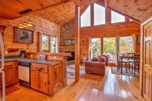 Bearly Naked Cabin - Cozy Mountain Cabins - Interior