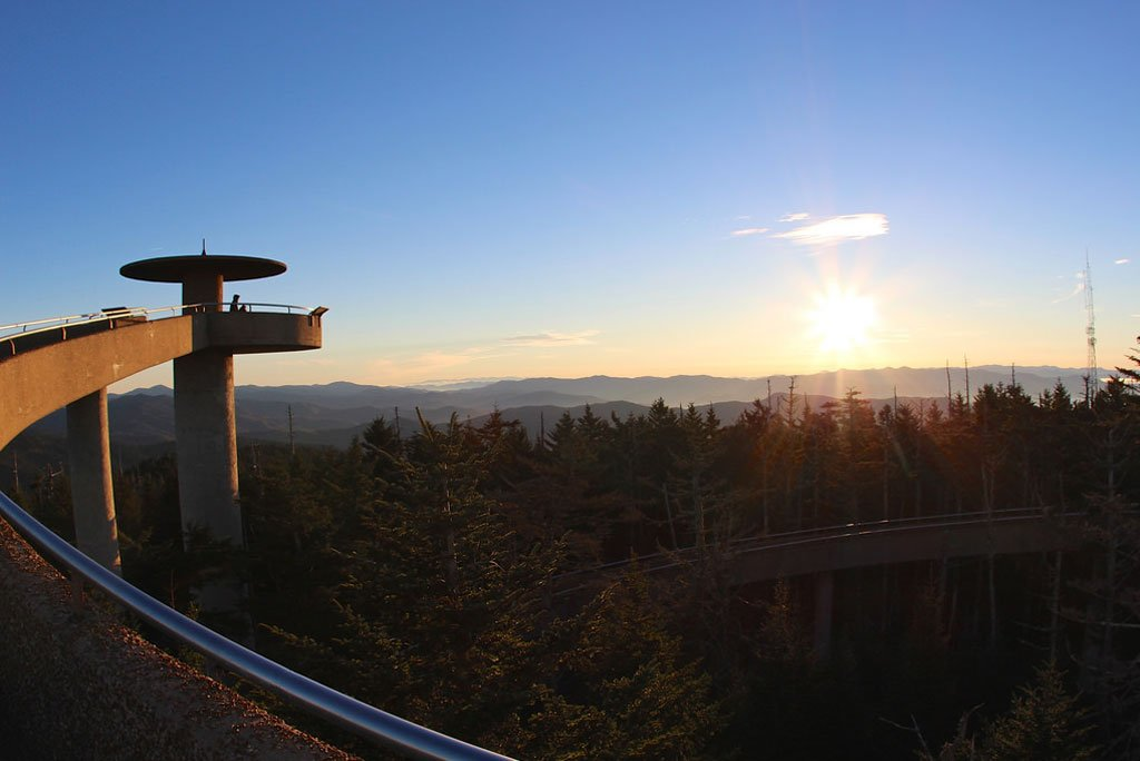 Clingmans Dome at Sunset