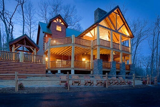 Incredible! - Cabin by American Patriot Getaways in the Smoky Mountains