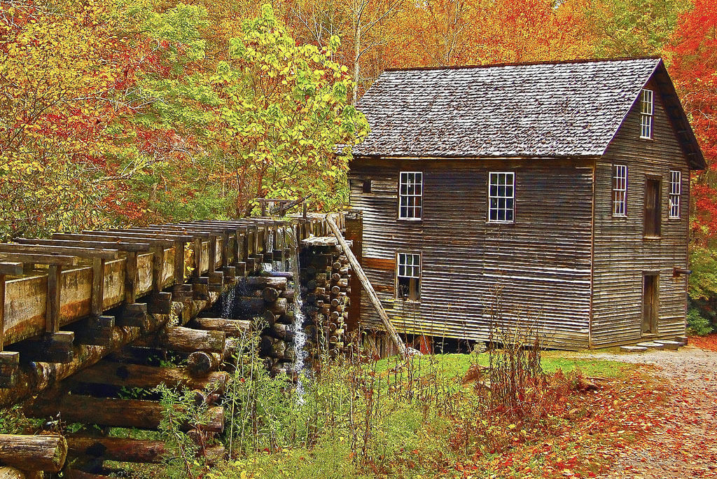 Mingus Mill at the Smoky Mountain National Park