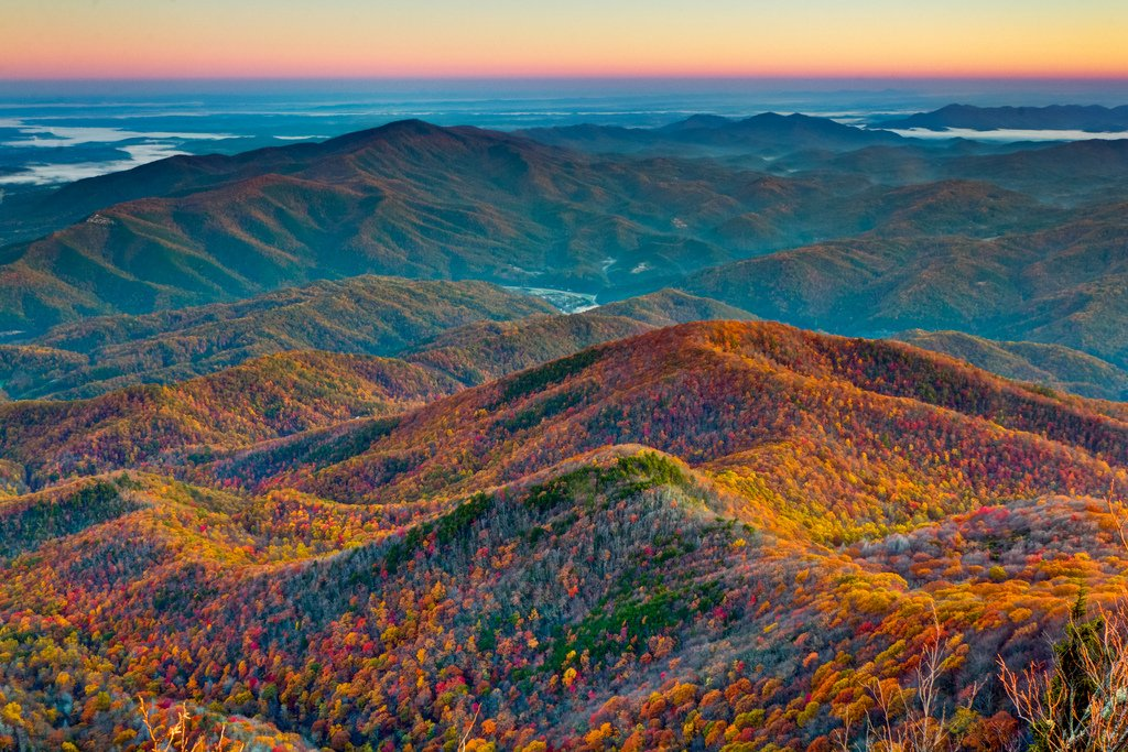 Great Smoky Mountains National Park - Mt. Cammerer