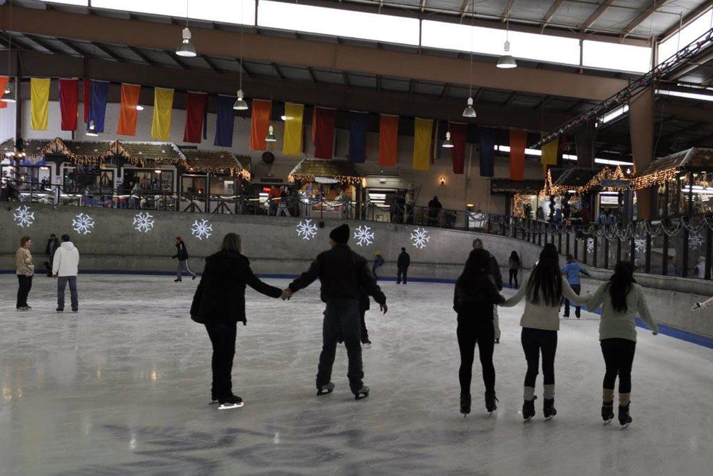 Ice Skating at Ober Gatlinburg