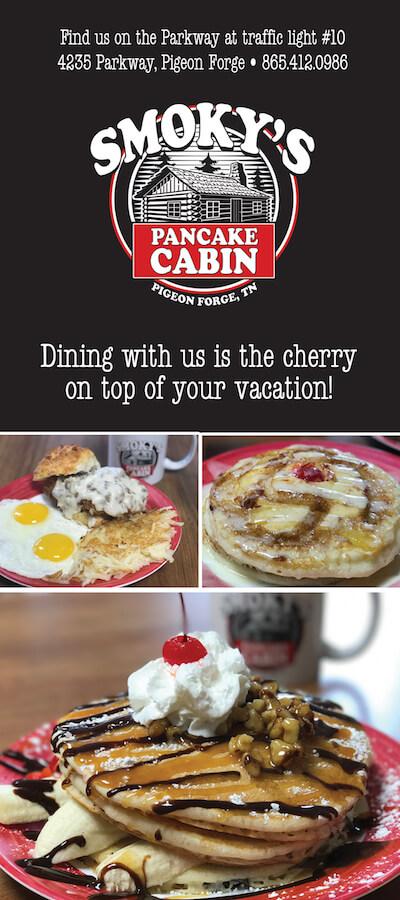 Smoky's Pancake Cabin Brochure Image