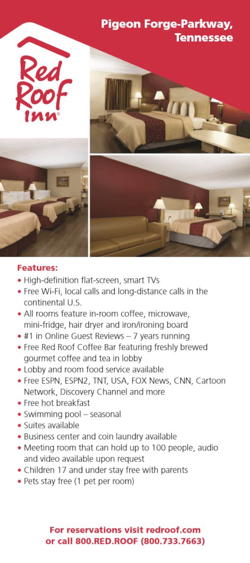 Red Roof Inn & Suites Brochure Image