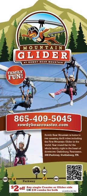 Rowdy Bear Mountain Glider Brochure Image