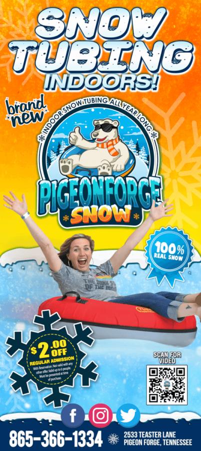 Pigeon Forge Snow Brochure Image