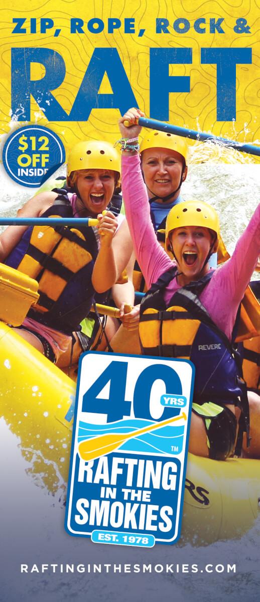 Rafting in the Smokies Brochure Image