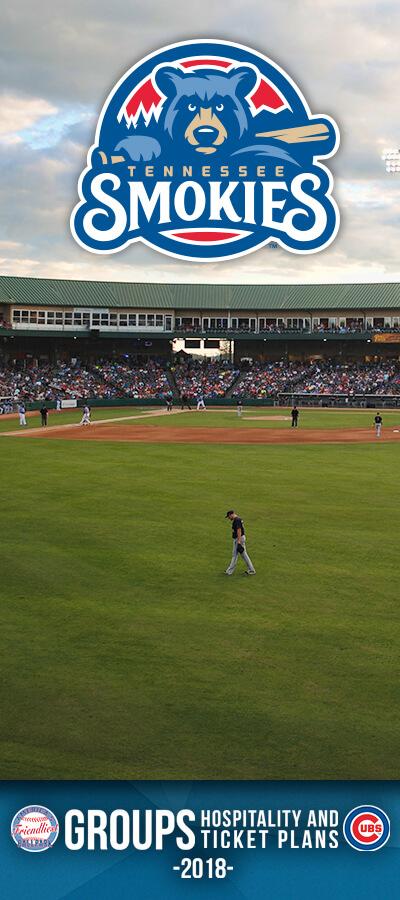 Tennessee Smokies Baseball Brochure Image
