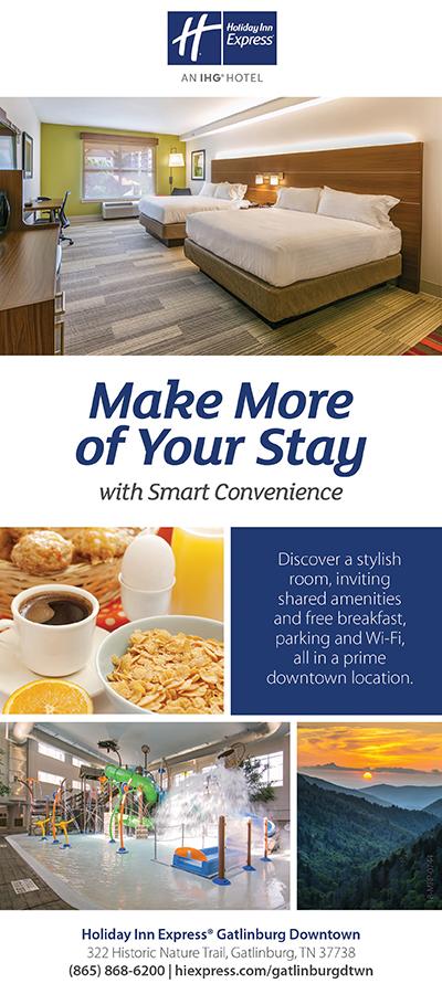 Holiday Inn Express Gatlinburg Downtown Brochure Image