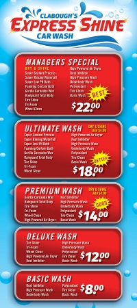 Clabough's Express Shine Car Wash