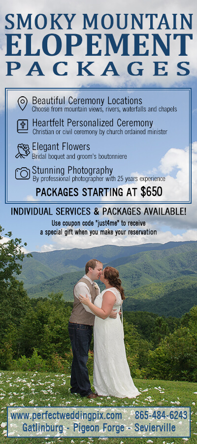 Smoky Mountain Elopements Brochure Image