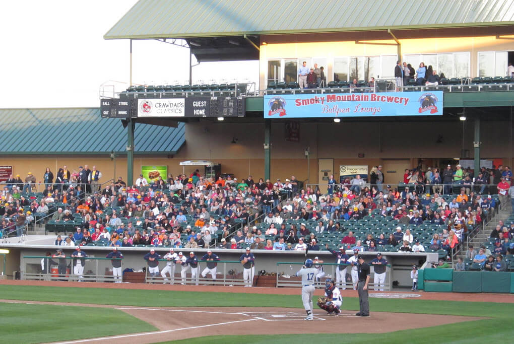 Tennessee Smokies Baseball - Photo by Doug Kerr on Flickr