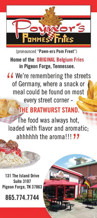 Poynor's Pommes Frites Brochure Image