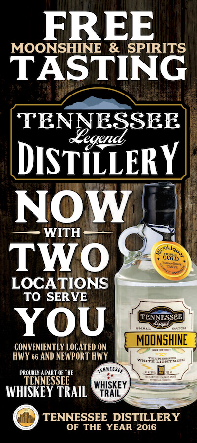Tennessee Legend Distillery Brochure Image