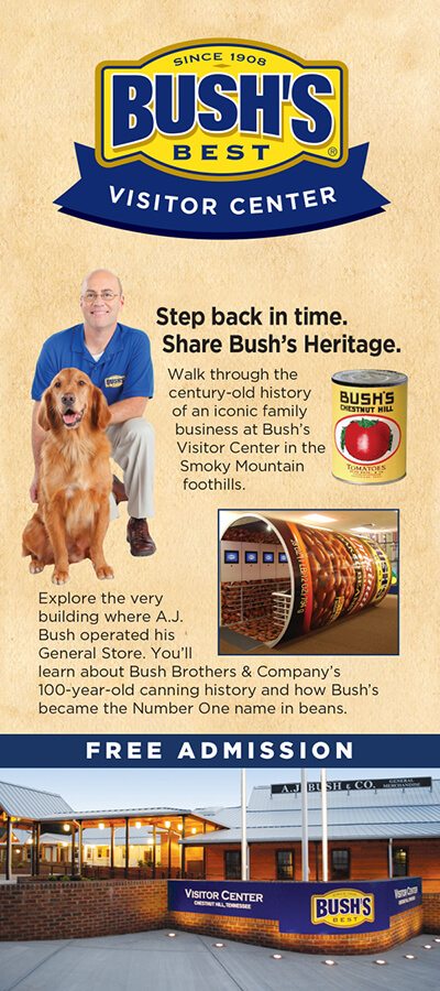 Bush's Visitor Center