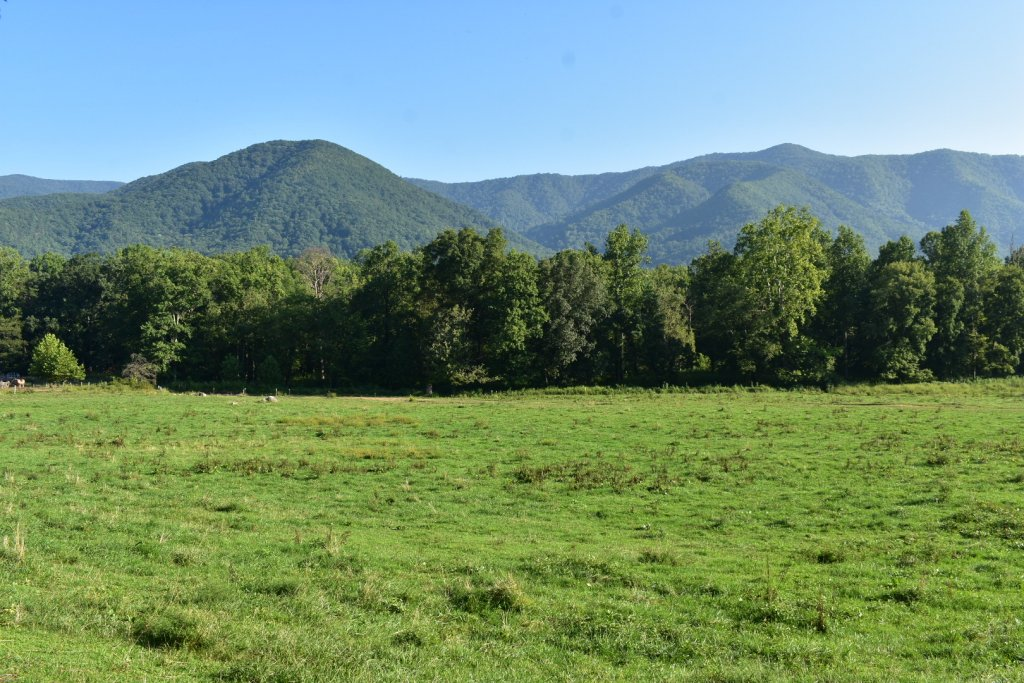Cades Cove Hills in Great Smoky Mountains National Park