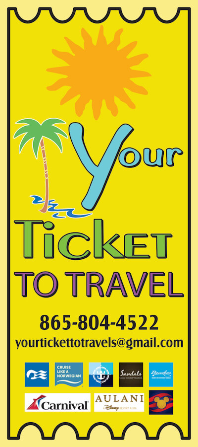 Your Ticket to Travel Brochure Image