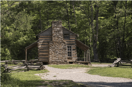 John Oliver Cabin Cades Cove, Tennessee