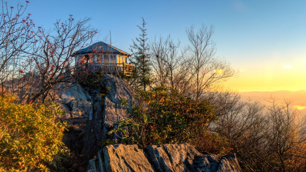 Mount Cammerer Smoky Mountains