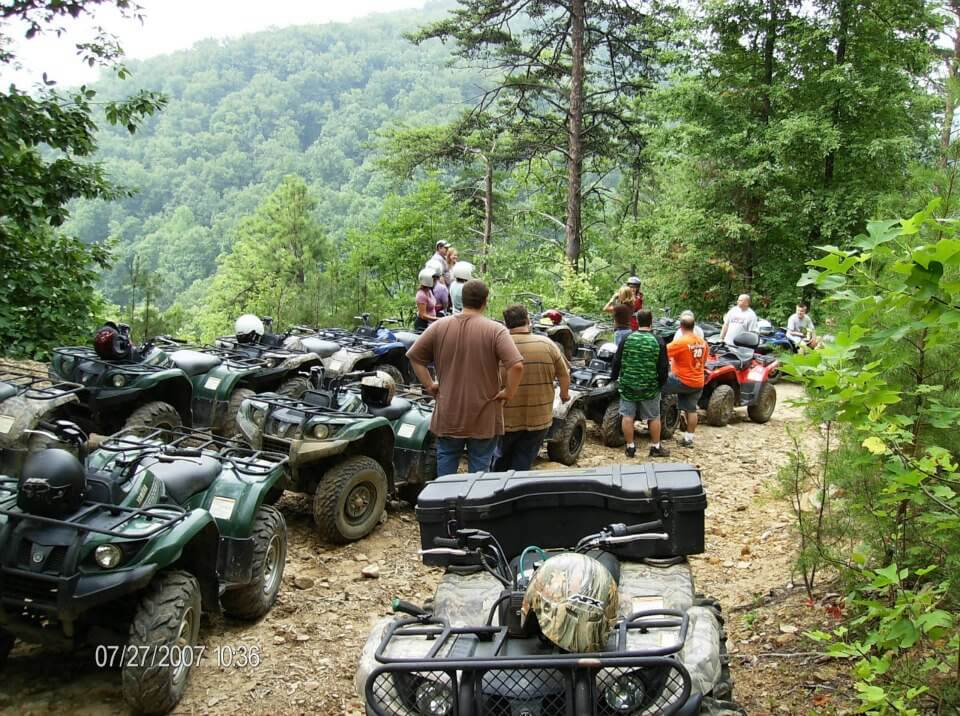Pigeon Forge attractions - Bluff Mountain ATV Rides