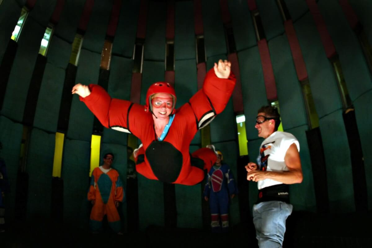 Things to do in Pigeon Forge for adventure seekers - Flyaway Indoor Skydiving