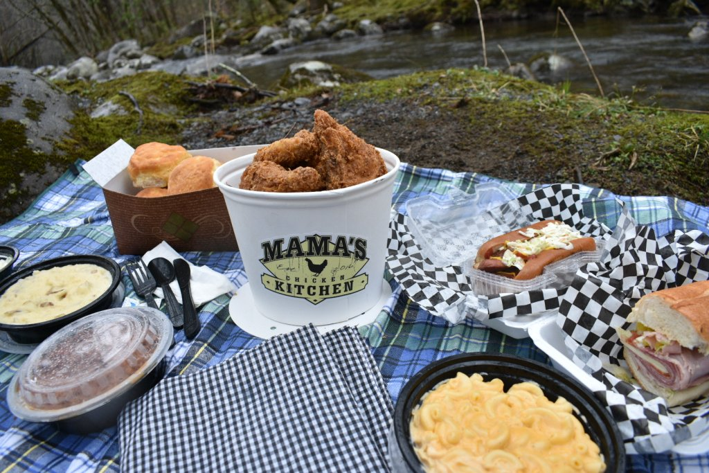 Mama's Chicken Kitchen picnic food