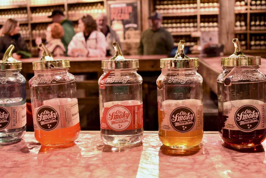 Ole Smoky Moonshine Tastings