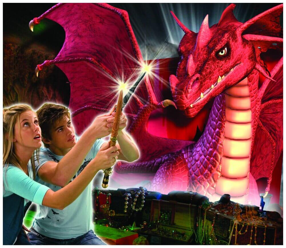Pigeon Forge attractions - MagiQuest