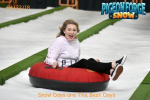 Pigeon Forge Snow - Indoor Tubing