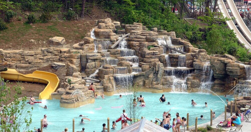 Dollywood's Splash Country in Pigeon Forge
