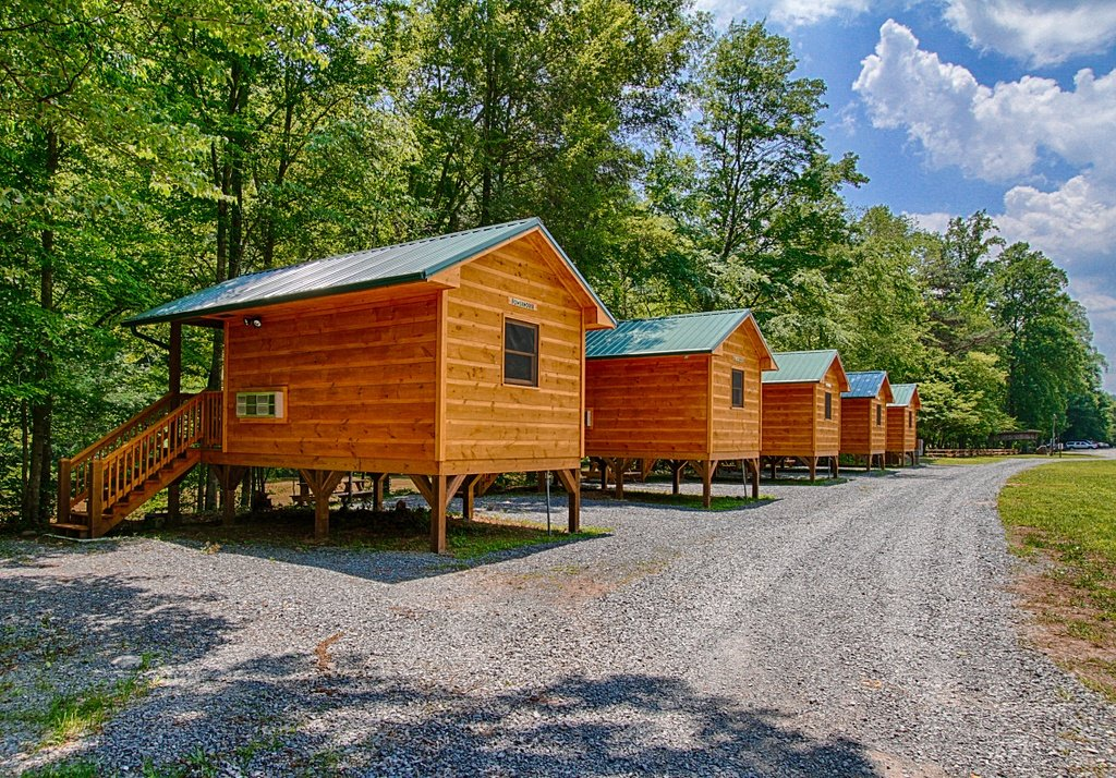 Pigeon River Campground - Smoky Mountains