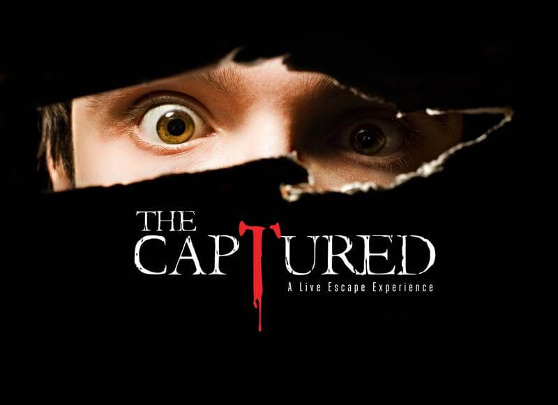 Gatlinburg Attraction - The Captured - A Live Escape Experience